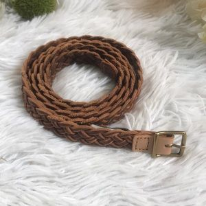 J. Crew Braided Belt